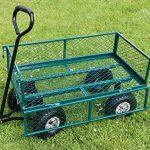 Draper Chariot de jardin acier grillagé vert de la marque Draper image 2 produit