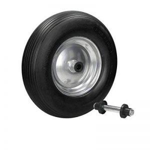 ECD Germany Brouette roue PU 4.80/4.00-8 4PR roue en caoutchouc roue de secours brouette de la marque ECD-Germany image 0 produit