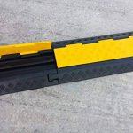 EDP-2 Rampe de protection modulaire en caoutchouc à double canal avec couvercle rabattable, pour conduits de 28 mm de diamètre. de la marque SNS SAFETY LTD image 3 produit