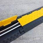 EDP-2 Rampe de protection modulaire en caoutchouc à double canal avec couvercle rabattable, pour conduits de 28 mm de diamètre. de la marque SNS SAFETY LTD image 4 produit