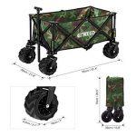 Enkeeo Chariot à Main Pour Camping Chariot Pliable Facile à Porter Remorque d'Extérieur Pour Bricolage Plage Pique-Nique de la marque ENKEEO image 4 produit