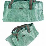 FiveSeasonStuff 3 sacs de déchets de jardin (272 litres), grand lourds devoir double coudre réutilisables sacs avec arceau de stabilisation flexible de la marque FiveSeasonStuff image 4 produit