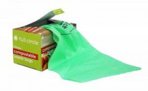 Full Circle déchets compostables Sacs, Lot de 25, Vert de la marque Full Circle image 0 produit