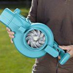 Gardena Aspirateur - Souffleur électrique ErgoJet 3000 souffleur/aspirateur de feuilles avec moteur de 3000 W, puissance d'aspiration de 170 l/s, vitesse de soufflage de 310 km/h (9332-20) de la marque Gardena image 4 produit