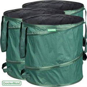 GardenMate® 3x sac de déchets Pop Up tissu Oxford 600D 85L de la marque GardenMate® image 0 produit