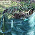 GardenMate® 3x sac de déchets Pop Up tissu Oxford 600D 85L de la marque GardenMate® image 2 produit