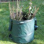 GardenMate® 3x sac de déchets Pop Up tissu Oxford 600D 85L de la marque GardenMate® image 3 produit