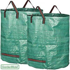 GardenMate® Lot de 2 sacs de jardin 400L PROFESSIONAL en polypropylène robuste (PP) de la marque GardenMate® image 0 produit