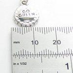Go vert en argent 925/1000–ECO réutilisation réduire CF4956 recyclage charms de la marque Maldon Jewellery image 2 produit