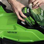 Greenworks Tondeuse à gazon sans fil sur batterie 41cm 40V Lithium-ion avec 2 batteries 2Ah et chargeur - 2504707UC de la marque Greenworks Tools image 1 produit