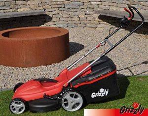 Grizzly Tondeuse électrique EM 1744HW, 1700watts, 44cm Largeur de coupe, 6Compartiment Hauteur réglable de la marque Grizzly image 0 produit