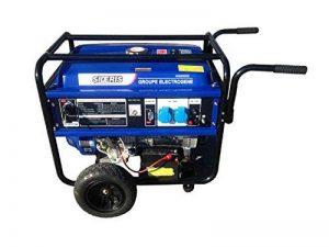 Groupe électrogène essence 5500W à démarrage électrique de la marque SIDERIS image 0 produit