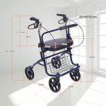 Harvest EU/Panier d'achat pour personnes âgées Chariot pour personnes âgées Chariot élévateur à roulettes Les personnes âgées peuvent être pliées de la marque Trolley/Harvest EU image 1 produit