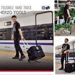 HERZO Chariot De Manutation Diable Pliable Charge Maximale 70 kg Diable pliant de la marque HERZO image 5 produit