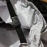 HOMMINI Housse De Moto, Bâche Imperméable contre la pluie,soleil,neige,gel et poussière,265*105*125CM, Noir de la marque HOMMINI image 2 produit