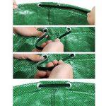 HOOMIL Sacs de Jardin, Multi-usages Sac à Déchets de Jardin en Water-Repellent PP Woven Fabric 272L - H3103 (Vert) de la marque HOOMIL image 1 produit
