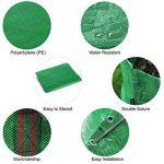 HOOMIL Sacs de Jardin, Multi-usages Sac à Déchets de Jardin en Water-Repellent PP Woven Fabric 272L - H3103 (Vert) de la marque HOOMIL image 2 produit