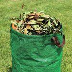 HOOMIL Sacs de Jardin, Multi-usages Sac à Déchets de Jardin en Water-Repellent PP Woven Fabric 272L - H3103 (Vert) de la marque HOOMIL image 4 produit