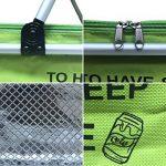 IHOMAGIC Sac isotherme pique-nique familial Cooler Sac de voyage isotherme Lunch Sac isotherme pour homme et femme. vert gazon de la marque IHOMAGIC image 3 produit
