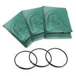 JTDEAL 3Pcs Sac à Déchets de Jardin 300L, Sac à Végétaux Hydrofuge, Résistant aux UV et Résistant à la Déchirure pour le Jardin et la Tonte de la Pelouse (Vert) de la marque jtdeal image 6 produit