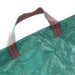 JTDEAL 3Pcs Sac à Déchets de Jardin 300L, Sac à Végétaux Hydrofuge, Résistant aux UV et Résistant à la Déchirure pour le Jardin et la Tonte de la Pelouse (Vert) de la marque jtdeal image 1 produit