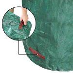 JTDEAL 3Pcs Sac à Déchets de Jardin 300L, Sac à Végétaux Hydrofuge, Résistant aux UV et Résistant à la Déchirure pour le Jardin et la Tonte de la Pelouse (Vert) de la marque jtdeal image 3 produit