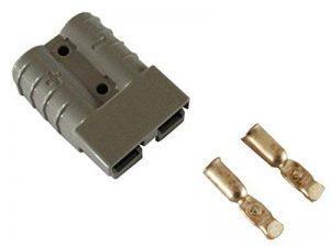 Kit de connecteur Chariot /él/évateur pour c/âble de batterie Prise de charge 175A 50 mm/² Connecteur de c/âble gris