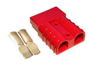 Kit de connecteur Chariot élévateur pour câble de batterie Prise de charge 175A 16 mm² Connecteur de câble rouge de la marque eXODA image 0 produit