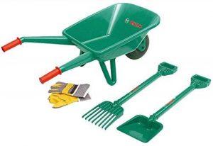 Klein 2752 - Jeu de plein air - Set de jardinage Bosch avec brouette, 4 pièces de la marque Klein image 0 produit