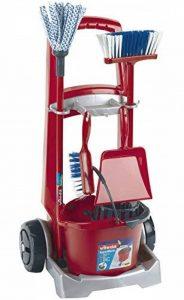 Klein 6741 - Jeu d'imitation - Chariot de ménage Vileda avec accessoires de la marque Klein image 0 produit