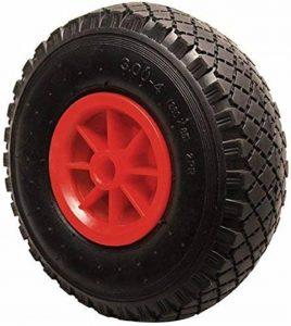 Kraftmann 80950 Roue sur pneu, Noir/rouge, 260 x 85 x 20 mm de la marque Kraftmann image 0 produit