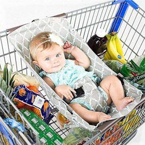 LanLan Creative Portable Hamac pour bébé pour chariot de courses de lit bébé Fournitures Hamac portable de bébé portatif pour le trolley de chariot à provisions de la marque LanLan image 0 produit