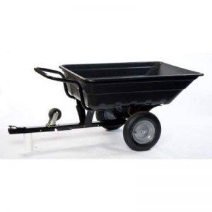 LawnBoss TURFMASTER - Remorque/Brouette - Basculante - 250 kg pour TracteurTondeuse Quad de la marque LawnBoss image 0 produit