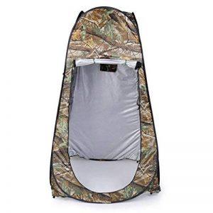 Leshp Vestiaire Pop-up - Tente de 120 cm x 120 cm x 195 cm - 180T, Pliable et Imperméable avec Sac camouflage - pour Plage et Camping de la marque LESHP image 0 produit