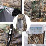 Leshp Vestiaire Pop-up - Tente de 120 cm x 120 cm x 195 cm - 180T, Pliable et Imperméable avec Sac camouflage - pour Plage et Camping de la marque LESHP image 1 produit