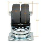 LIHAO Lot de 4 Roulettes Ultra-résistantes Pivolantes avec Frein d'arrêt pour Chariot Meuble de la marque LIHAO image 4 produit