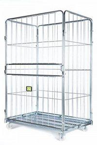 Logistique paggiola à/0007Chariot de manutention et transport de marchandises voluminose, 80x 120x 200cm, lot de 4 de la marque Logistica Paggiola image 0 produit