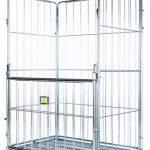 Logistique paggiola à/0007Chariot de manutention et transport de marchandises voluminose, 80x 120x 200cm, lot de 4 de la marque Logistica Paggiola image 1 produit