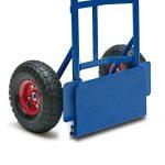 Main chariot Camion Dolly avec pneus pneumatique Heavy Duty 200Killogram 199,6kilogram industriel de la marque Deuba image 3 produit