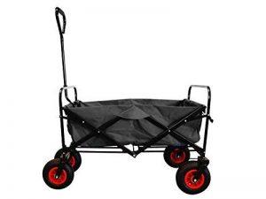 MAXOfit Chariot à multi usages avec roues pneumatiques et housse de protection colori noir de la marque MAXOfit image 0 produit