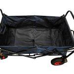 MAXOfit Chariot à multi usages avec roues pneumatiques et housse de protection colori noir de la marque MAXOfit image 2 produit