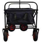 MAXOfit Chariot à multi usages avec roues pneumatiques et housse de protection colori noir de la marque MAXOfit image 3 produit