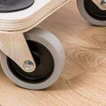Meister 821420 Chariot à roulettes, Contreplaqué, roues en TPE - 680 x 290 mm - 300 kg de la marque Meister image 2 produit