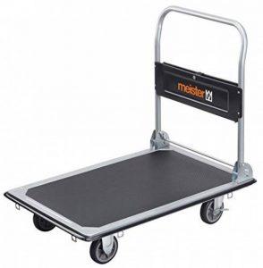 Meister 8985540 Chariot plateforme Pliable 300 kg de la marque Meister image 0 produit