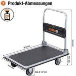 Meister 8985540 Chariot plateforme Pliable 300 kg de la marque Meister image 1 produit