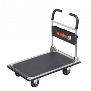 Meister 8985630 Chariot plateforme cut-off pliable 300 kg de la marque Meister image 0 produit