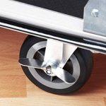 Meister 8985630 Chariot plateforme cut-off pliable 300 kg de la marque Meister image 2 produit
