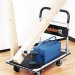 Meister 8985630 Chariot plateforme cut-off pliable 300 kg de la marque Meister image 6 produit