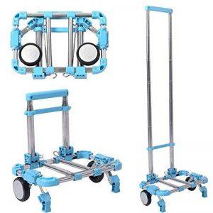Miyare chariot chariot Push Camion chariot Diable pliable portable en alliage d'aluminium Ménage supermarché chariot à bagages de la marque Miyare image 0 produit
