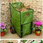 Mundus 33147 Poubelle de Jardin sur Roue Vert 62 x 62 x 92 cm de la marque Mundus image 1 produit